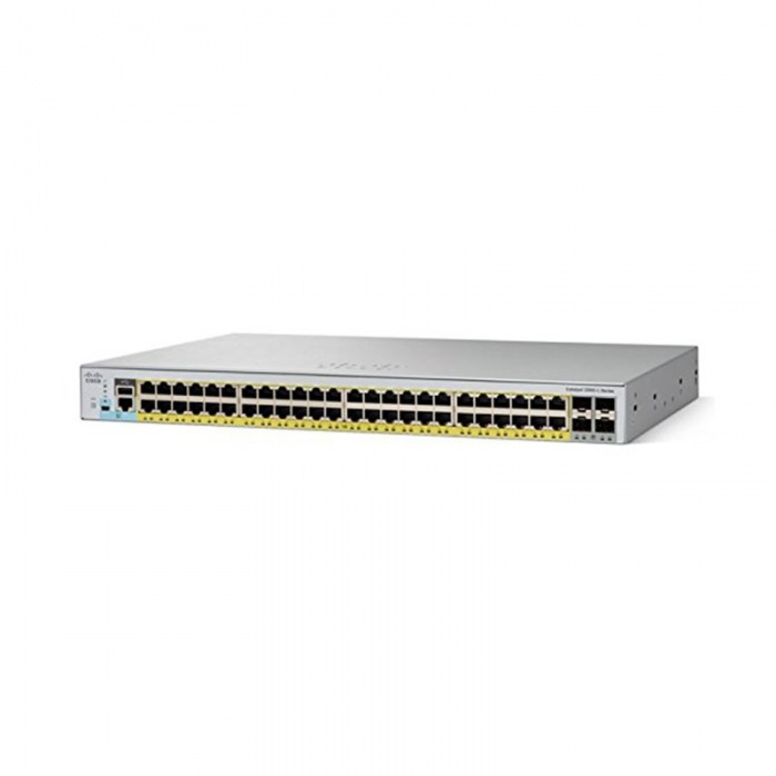 Коммутатор Cisco Catalyst WS-C2960L-48PQ-LL